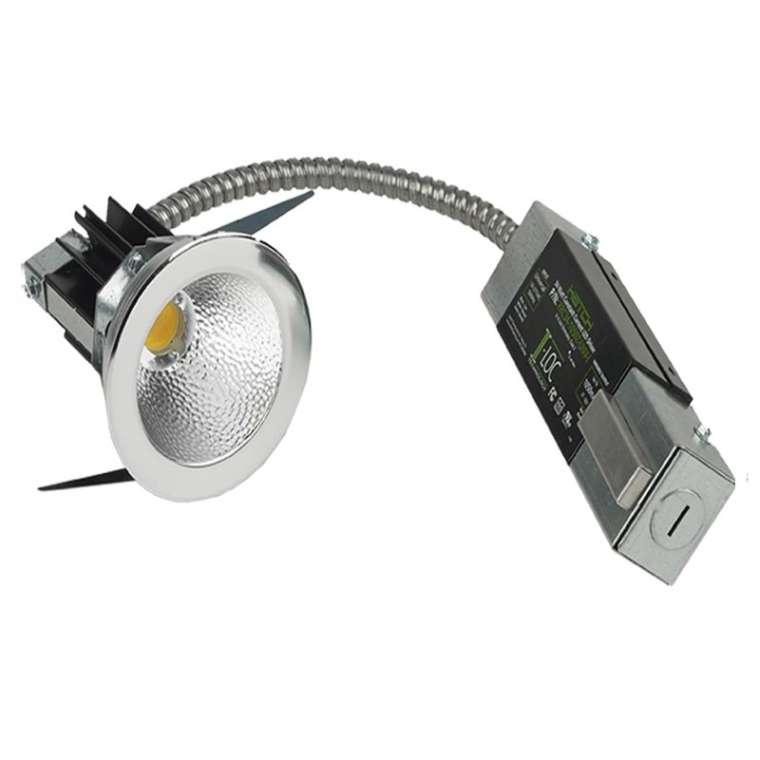 Led Recessed Lighting Old Work : Led r remodeler recessed round atlantic lighting